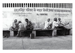 man talk (handheld-films) Tags: india street men conversation talking group leisure sitting seated indian society community friendships friends companions travel