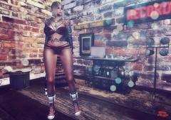DRESSING DOWN (Rachel Swallows) Tags: xxxevent lingerie fashion secondlife