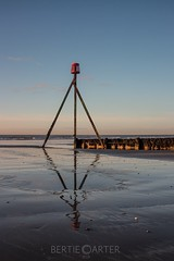 Groyne (bertie.carter.photography) Tags: groyne beach sunrise sand firstlight westsussex elmer seascape glow