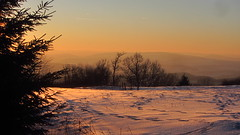 Auf dem Dolmar (kadege59) Tags: wow winter sunset moonrise nature natur canon canonpowershotsx230hs deutschland digital sky skyline outside outdoor outstanding germany europe europa thüringen thuringia