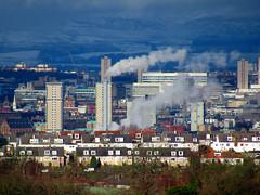 Glasgow in the snow today... (Hugh Spicer / UIsdean Spicer) Tags: glasgow cityofglasgow scotland europe eu cityscape