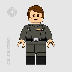 Galen Erso (darth85) Tags: swlego lego legostarwars legosw starwars empire galen erso mads mikkelsen eadu corruscant minifigure minifig minifigures scientist kyber stardust rogue one
