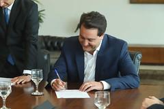 Assinatura de Convenio - Fundação Lemann