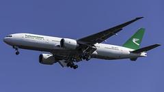 EZ-A777_JFK_Landing_31R_UN_Week_2019 (MAB757200) Tags: turkmenistanairlines b77722klr eza777 aircraft airplane airlines airport jetliner jfk kjfk boeing landing runway31r ungeneralassembly