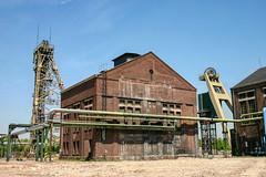 Fördergerüste mit Maschinenhallen (Friedhelm Dötsch) Tags: bergwerk coalmine niederberg