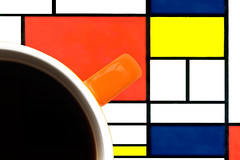Brew (andycurrey2) Tags: macromondays brew cup coffee colours mondrian art