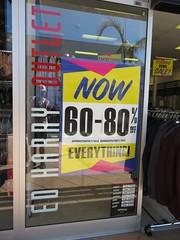 Ed Harry Harbor Town (West Beach) closing down (RS 1990) Tags: edharry fashion menswear store shop harbortown westbeach closingdown administration sale australia adelaide southaustralia friday 15th march 2019