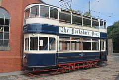 Trams: Leeds City Tramways: 345 Crich Tramway Village (emdjt42) Tags: leedscitytramways 345 tram crichtramwayvillage crich