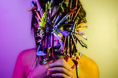 Crayshay Portrait Series 18 of 21 (Jef Harris) Tags: crayons mask portrait creativemakeup makeupartist beauty beautymua ottawacanada model nikond7000 submission mua fashion makeupupoftheday myartistcommunitycanada facepainting art