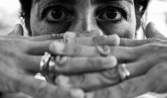 (jacopophotography) Tags: eyes gray bw blackandwhite black monocrome monocrom leicadlux109 leicaphotography lifestyle portrait lovely amazing