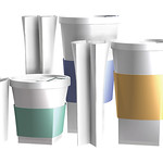 Foldable and reusable tumbler / cup.の写真