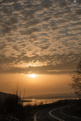 IMG_1505 (DanMarty92) Tags: sunset clouds formation pretty orange road water reflection reservoir carsingtonreservoir derbyshire landscape curves