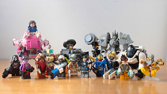 We are Overwatch (hachiroku24) Tags: lego overwatch characters reinhardt moc mech instructions