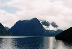 (mari-ann curtis) Tags: norway summer 2017 travel landscape colour film 35mm flo mountains fjord reflection clouds light shadow nostalgia memories