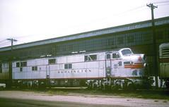 CB&Q E7 9921B (Chuck Zeiler52) Tags: cbq e7 9921b burlington railroad emd locomotive westburlington train chuckzeiler chz