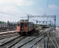 South Shore 25 Kensington June 79 (jsmatlak) Tags: chicago south shore bend indiana line interurban electric railway train nictd