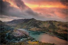 Dinorwic Sunrise (Nicks-2017) Tags: wales unitedkingdom gb dinorwig quarry snowdonia historic ruins slate mine llanberis llynperis sunrise clouds nature greaterphotographers