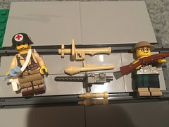 Christmas 2018 (WinstonChruchbuild) Tags: browning panzer scotland medic brickarms ww2 lego