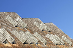 -  Looking Up - (Jacqueline ter Haar) Tags: amsterdam houthavens danzigerkade lookingup sunny structure shutters