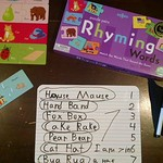 We use puzzles like these for extra literacy practice. Joslyn completed a few puzzles and then wrote down the words. She does this each day until she has finished all of them. thumbnail