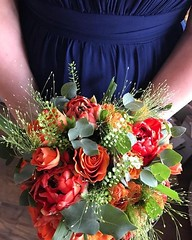A beautiful bridesmaid bouquet made by our team here at Parsley and Sage. This gorgeous bouquet was made using a mixture of roses, tulips, eucalyptus and mixed grasses. 💕 . . . #parsleyandsageflorist #stokeontrent #bridesmaidstyle #bridesmaidbo (parsleyandsage11) Tags: bridesmaids floraldesign flowerpower shoplocal weddingbells flowergram supportsmallbusiness floralfix weddingtrends weddingstyle weddingflorist weddingbouquet flowersofinstagram weddingideas flowerbeauties parsleyandsageflorist weddinginspo bridesmaidstyle instapic bridesmaidbouquet instawedding floralperfection stokeontrent