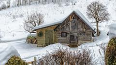 A small hut (a7m2) Tags: austria loweraustria viennesealps breitenstein kalterinne semmeringgebiet natur wandern schifahren schnee winter