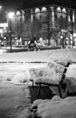 Snowy bench (Mario Ottaviani Photography) Tags: sony sonyalpha italy italia paesaggio landscape travel adventure nature scenic exploration view vista breathtaking tranquil tranquility serene serenity calm marioottaviani viaggio avventura natura esplorazione lombardia bergamo excursion escursione black white blackandwhite monochrome monocromo biancoenero bench panchina neve snow