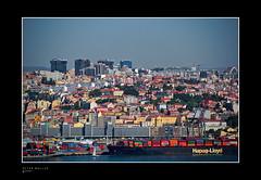 lisbon docks and skyline (petermüller21) Tags: portugal lisbon docks ships skyline 2018