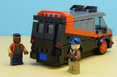 New A-Team Van Rear Door (Hobbestimus) Tags: lego moc 80s toys ateam babaracus murdock howlingmad