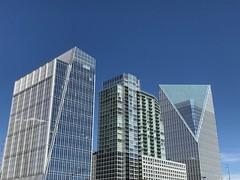 Atlanta's Steel Sky (fredgalaxy) Tags: blue steelsky cocacola atlanta
