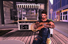 """"""" Relaxing """" (maka_kagesl) Tags: secondlife sl second life game gaming games videogame virtual portrait photography photo picture pose pic relax relaxing sit"""