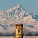 La torre e il Monviso