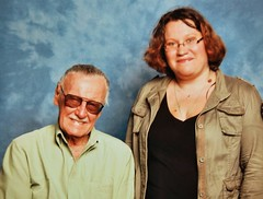 With the incomparable Stan Lee (Claire Fun) Tags: stan lee comics comic stanlee rip celebrity