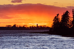 Sunset on Prince Edward Island (Blue Trail Photography) Tags: pei prince edward island maritime east coast canada atlantic ocean water bay sunset sky nature outdoor