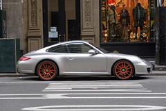 Porsche Carrera 4 GTS (jschumacher) Tags: nyc unionsquare car porsche