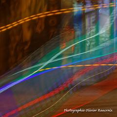 20181117_184417_0016 (Olivier_1954) Tags: rue trainéelumineuse lumière mouvements effets flou wave ondulations