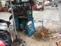 Street workshop in Saigon
