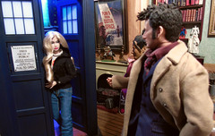 Poppy in the Tardis (Blondeactionman) Tags: