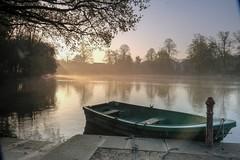 Boat at dawn (Lux Aeterna - Eternal Light) Tags: