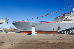 20181215_Y5A8624_m (LCS Team Freedom) Tags: 2018 christening lcs lcs19 launch littoralcombatship marinette shipyard stlouis usnavy usn wi wisconsin