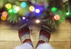 Under the Christmas tree (IamRina_) Tags: bjd doll abjd bjdboy christmas socks