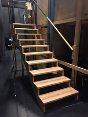 2018 YIP Day 300: Backstage (knoopie) Tags: 2018 october iphone picturemail backstage theater stairs 2018yip project365 365project 2018365 yiipday300 day300 casavalentina ericksontheatre