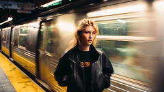 070 (ANDRÉ JOSSELIN) Tags: new york city subway metro caroline lossberg andre josselin leica m 240 voigtlaender 35mm 14