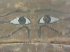 The eyes of Horus CaixaForum, Madrid, June 2018 (d.kevan) Tags: exhibitions caixaforum ancientinstruments displaycabinets june2018 madrid spain exhibits eyesofhorus egypt