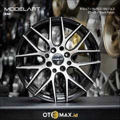 Velg Mobil Modelart 638 Ring 15 Black Machine Face (otomaxid) Tags: