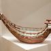 Antique Japanese ceramic boat