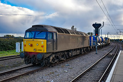 37602 + 57003 - Ely - 26/10/18. (TRphotography04) Tags: direct rail services drs 57003 37602 ely working 3s01 922 stowmarket dgl rhtt circular via cromer norwich