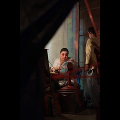 Behind the scene (Antoine - Bkk) Tags: thailand chinese theater bangkok night atmosphere backstage actor