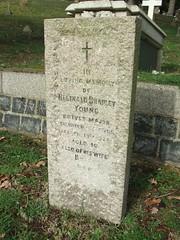 Brevet Major Reginald Bradley Young (Living in Dorset) Tags: aldershotmilitarycemetery aldershot hampshire england uk gb grave headstone servicegrave 1926 brevetmajor reginaldbradleyyoung bettyyoung sherwoodforesters