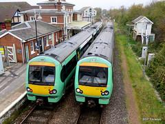 Passing single line - Rye (SP Railways) Tags: railway train british class171 171726 171728 turbo star